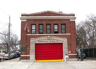 Tottenville, Staten Island - Firehouse on Amboy Road