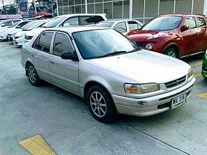 Toyota Motor Thailand - Image: Toyota Corolla (E110) 07