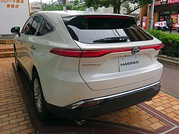"Toyota HARRIER HYBRID Z""Leather Package""2WD (6AA-AXUH80-ANXSB(S)) rear.jpg"