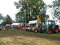 Tractor display at the 2007 Mid-Somerset Show - geograph.org.uk - 572939.jpg