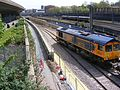 Train carrying track for Crossrail London 07.JPG