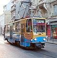 Tramway in Sofia in Alabin Street 2012 PD 049.jpg