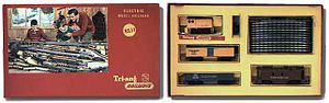 Tri-ang Railways - Boxed Tri-ang railway set.