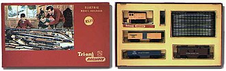 Tri-ang Railways - Boxed Tri-ang railway set.