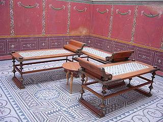 Triclinium Roman dining room