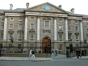 1759 in architecture - Trinity College, Dublin