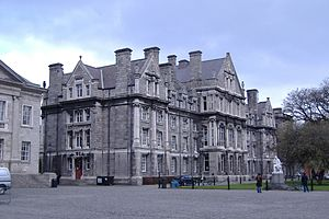 Trinity College en Dublín (Irlanda)