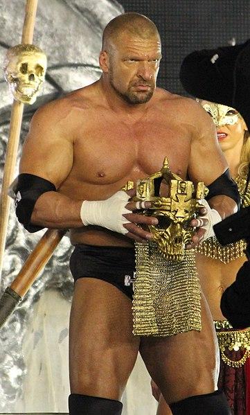 File:Triple H at WM30.jpg