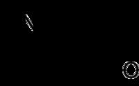 Strukturformel von Tropinon