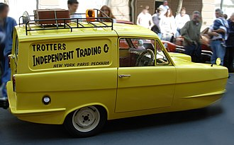 Only Fools and Horses - A replica of the Trotters' Reliant Regal