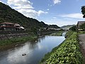 Tsuwanogawa River near Mori Ogai Memorial Museum (north) 2.jpg