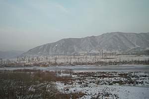 Tumen River - Image: Tumen River Winter 2