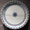 Turchia, iznik, piatto con decoro a rilievo, 1575-80 ca..JPG