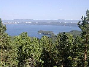 Lake Turgoyak - Image: Turgoyak