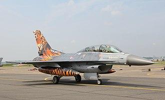 Turkish Air Force - F-16DJ of 192nd Tiger Squadron