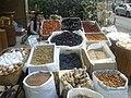 Turkish food and the saleswoman in Ankara.jpg
