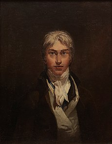 Vlastní portrét, olej na plátně, kolem 1798