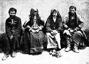 Tushetians - Four Tushetians, 1901