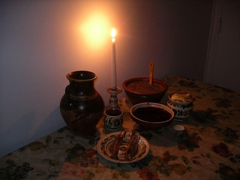 Twelve-dish Christmas Eve supper