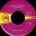 Twenty-Five Miles by Edwin Starr US vinyl side-A label.png
