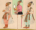 Two Mughal Emperors and Shah Alam c. 1876.jpg