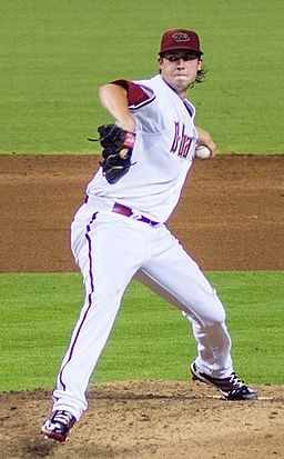 Tyler Skaggs on July 22, 2013