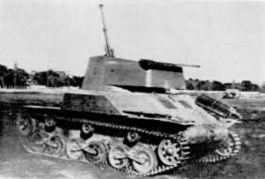 Type 98 Ke-Ni - Type 98 Ta-Se anti-aircraft Tank