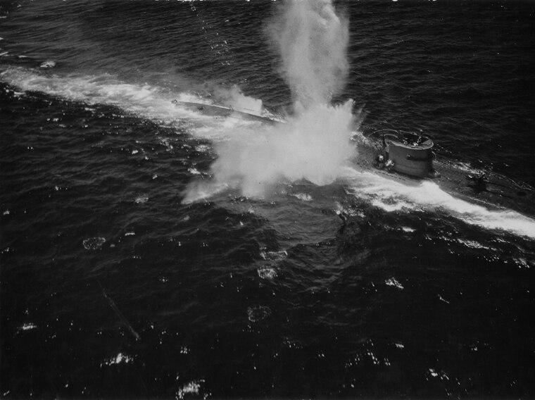 U-118 Angriff
