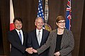 U.S., Japan and Australian Trilateral meeting (42510337651).jpg