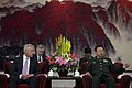 U.S. Defense Secretary Chuck Hagel meets with Chinese Gen. Fan Changlong, vice chairman of China's Central Military Commission, in Beijing, April 8, 2014 140408-D-BW835-623.jpg