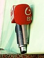 UBN TTV News microphones at COSCUP 20110820.jpg