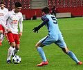 UEFA Youth League FC Salzburg gegen Manchester City FC ( 8. Februar 2017) 50.jpg