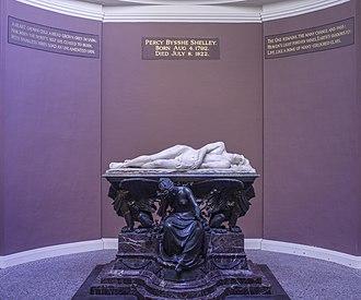Shelley Memorial - Image: UK 2014 Oxford University College 02 (Shelley Memorial)