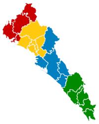 unidades regionales de la uas unidad regional norte unidad regional centronorte unidad regional centro unidad regional sur