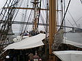 USCGC Eagle main deck during Festival of Sail 2008 SF 1.JPG