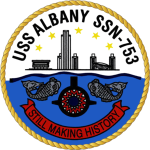 USS Albany (SSN-753) - Image: USS Albany SSN 753 Crest