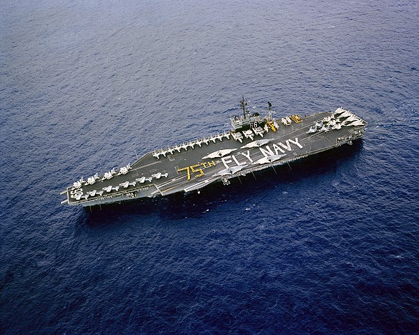 file uss america  cv-66  75th fly navy jpg