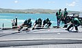 USS Cheyenne arrives in Apra Harbor, Guam. (8637769674).jpg