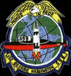 USS George Washington (SSBN-598) - Image: USS George Washington SSBN 598 COA