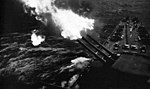 USS North Carolina (BB-55) firing on Okinawa 1945.jpg