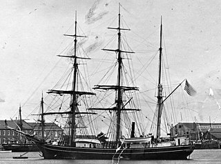 Navy steam whaling barque
