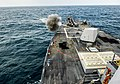 USS Sterett conducts a live-fire exercise. (16279840912).jpg