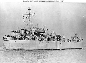USS Zeus (ARB-4) - Image: USS Zeus (ARB 4)