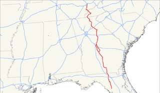 U.S. Route 129 highway in the United States
