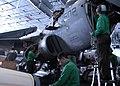 US Navy 030311-N-4154B-501 Crewmembers work on a EA-6B Prowler aboard USS Theodore Roosevelt (CVN 71).jpg
