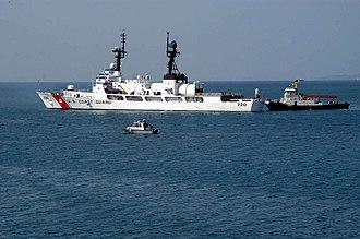 USCGC Sherman (WHEC-720) - USCGC Sherman in 2006.
