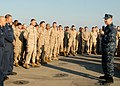 US Navy 081219-N-3392P-156 Chief of Naval Operations (CNO) Adm. Gary Roughead talks to Sailors and Marines.jpg