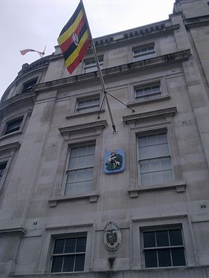 High Commission of Uganda, London - Image: Uganda House, London 2