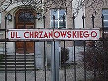 Ulica Bernarda Chrzanowskiego, Gdynia - 001.JPG