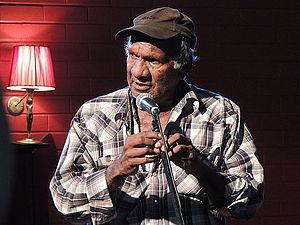 Kevin Buzzacott - Uncle Kevin Buzzacott in Adelaide 2014